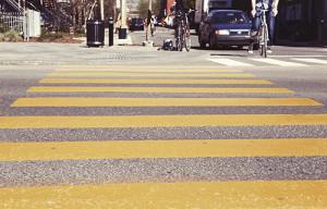 crosswalk on street