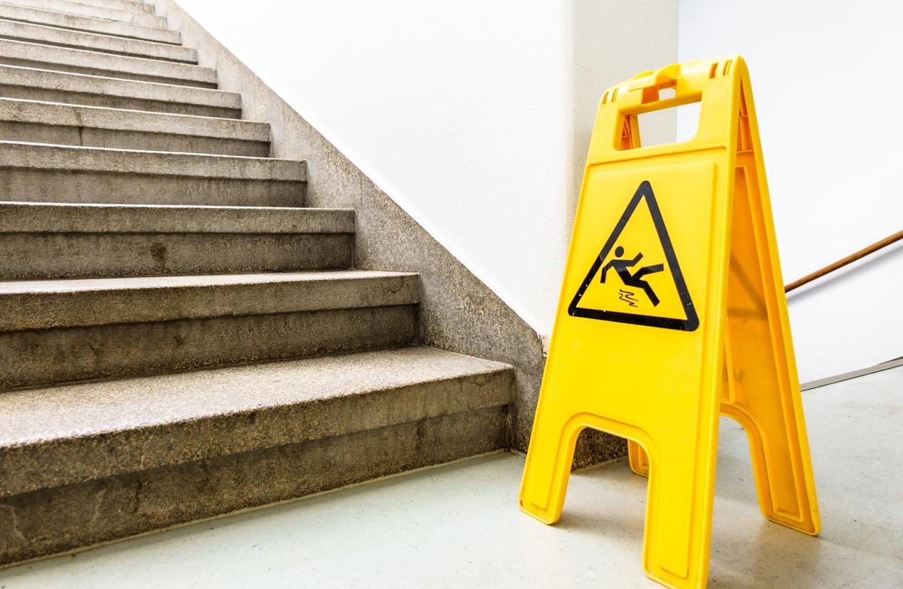 Slip and Fall Danger