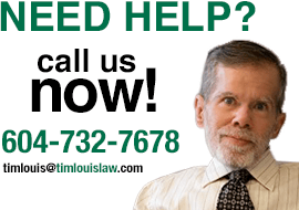 Call Tim Louis for Long-Term Disability or Personal Injury